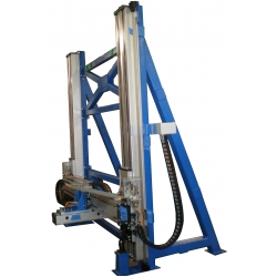 Vertical XYZ gantry with linear motors