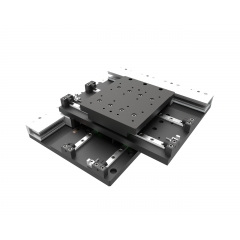 XY table with linear motors