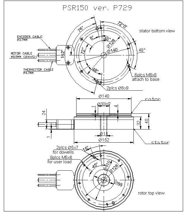 rotary table psr