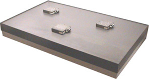 XY table with air bearings